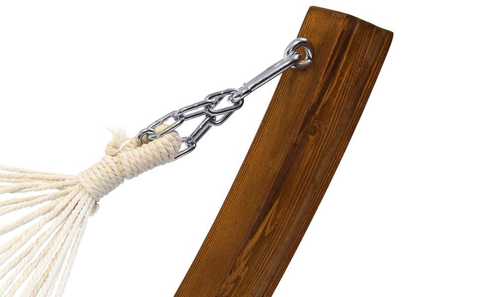 Wooden hammock stand   hammock web3