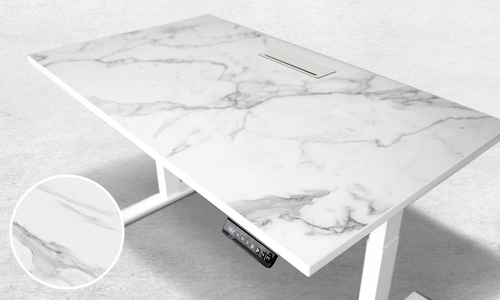 Marble electric sit stand desk 249   web1