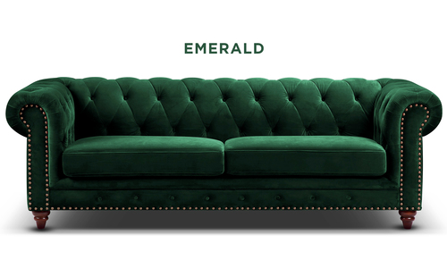 New emerald   kensington velvet button 3 seater sofa   web1