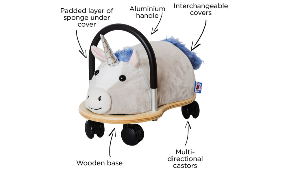 3606 unicorn plush combo wheely bug   web3