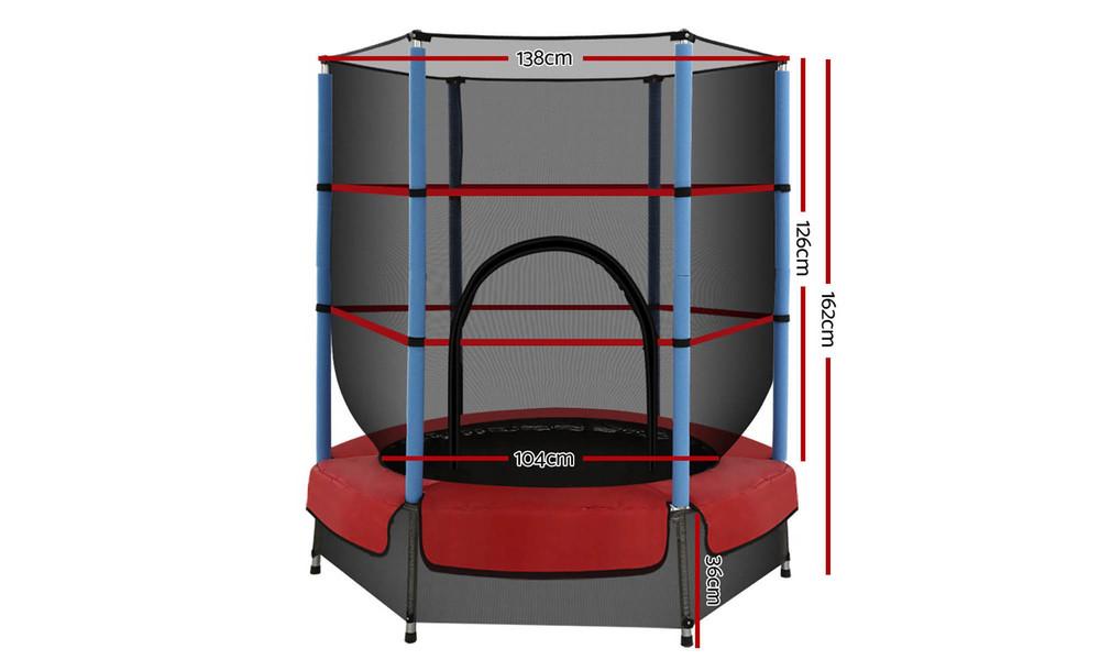 Everfit 4.5ft indoor outdoor trampoline 3651   web2