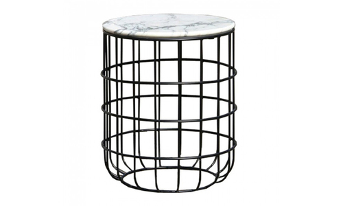 573 genuine marble top wire table