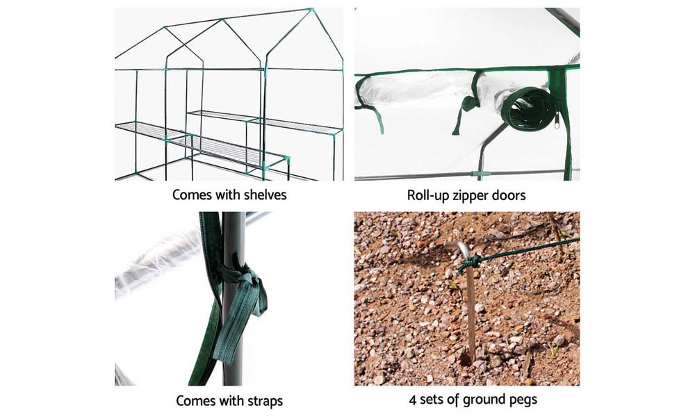 Greenfingers greenhouse 1.9x1.2m 3660   web6