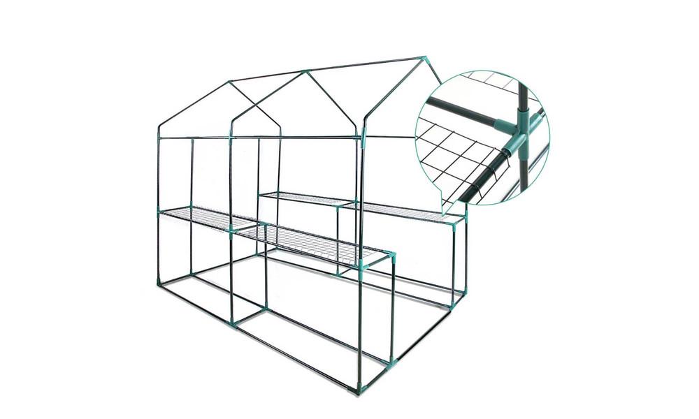 Greenfingers greenhouse 1.9x1.2m 3660   web3