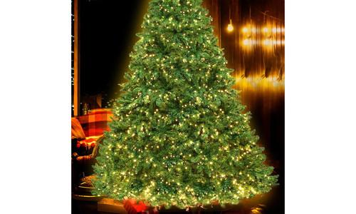 8ft jingle jollys led christmas tree 3664   web3