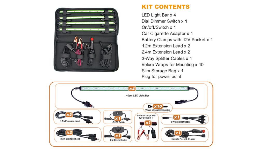 Led lighting kit web3