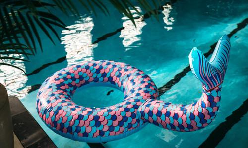 Pool toy mermaid tail
