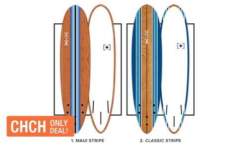Surfboards soft stripe mauiclassicstripe