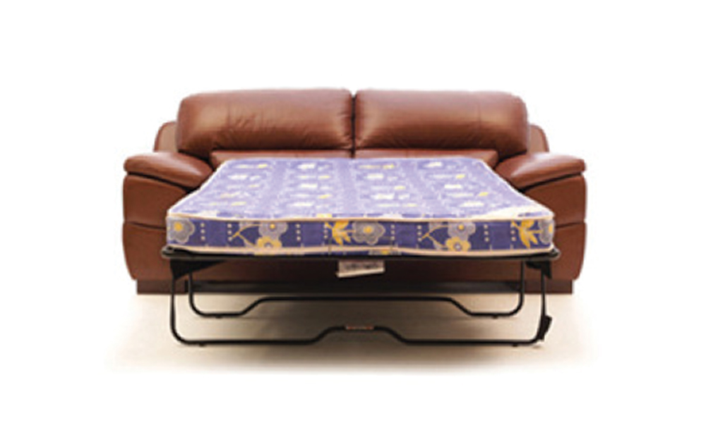 Dublin 3seater fold out leather 786 2