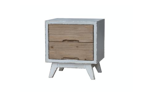 Rustica wood sidetable 1