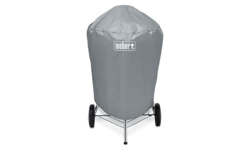Weber bbq cover grey