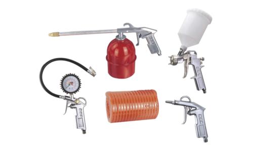 Aircompressor 5 tool kits