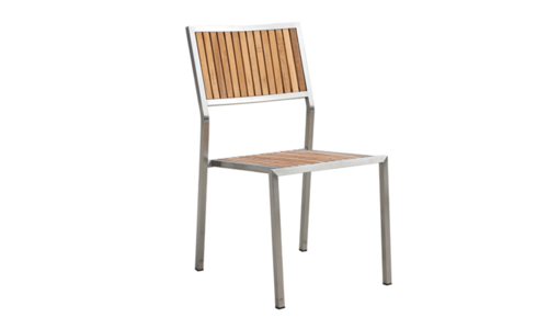 Teak and stainless outdoor furniture 0003 apl c102