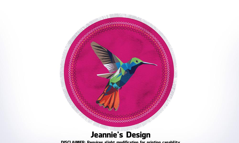 G029 round towel designs mockups birdseye 4