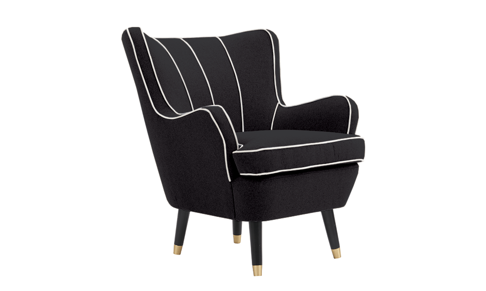 Dorian armchair black 1