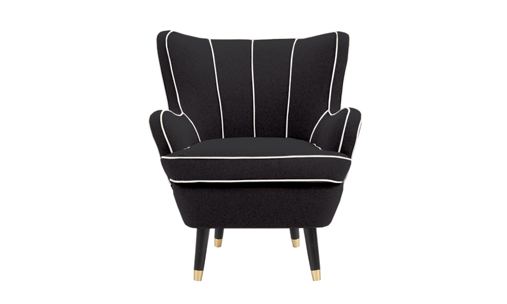 Dorian armchair black 2