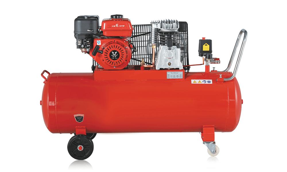 Petrol aircompressor
