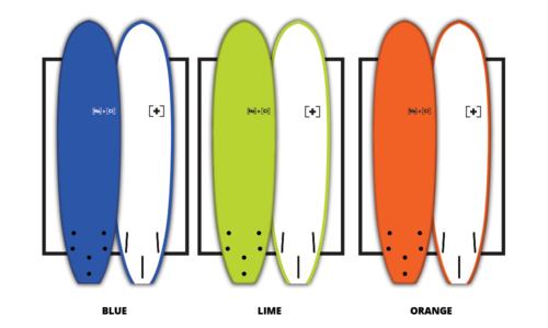 Soft surfboards plain edited