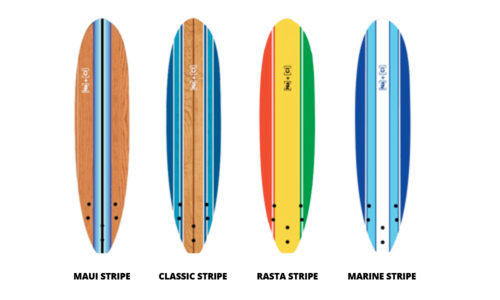 Soft stripe surfboards edited