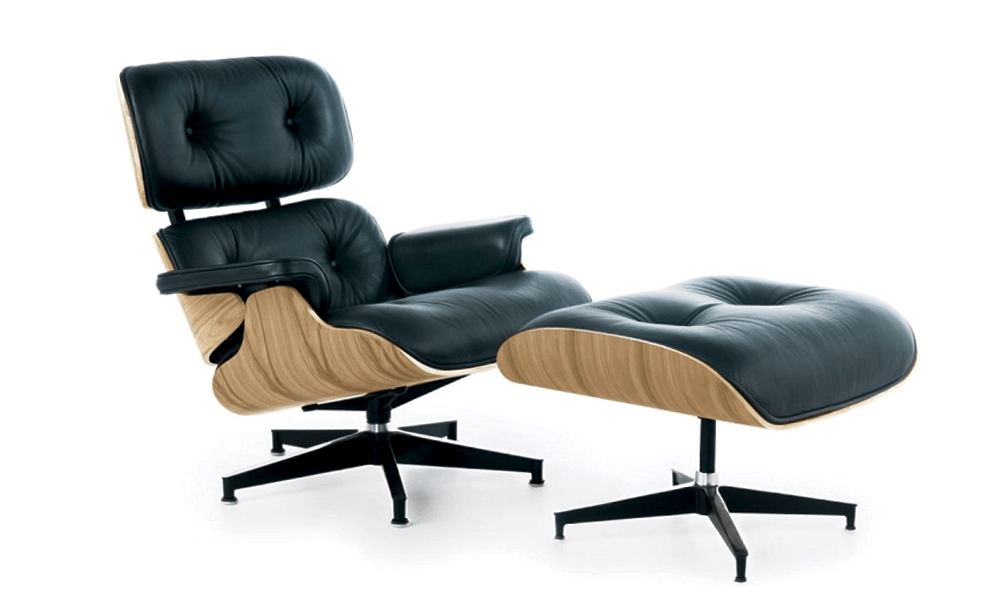 Eames Lounge Stoel Replica.Container Door Ltd Replica Eames Lounge Chair Ottoman
