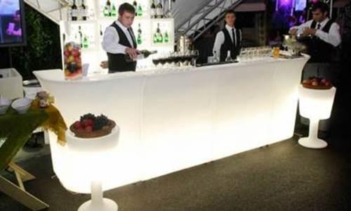 Led bar illuminated
