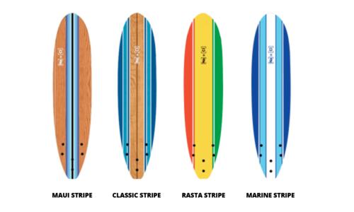 Soft stripe surfboards edited