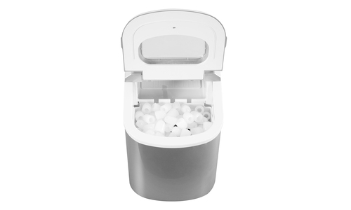 Benchtop ice maker silver web 2