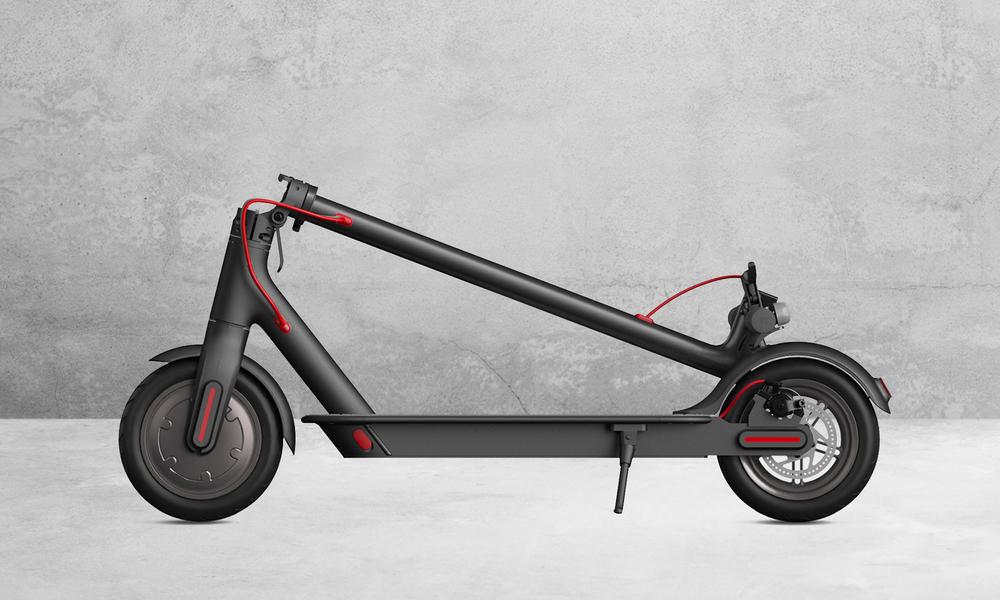 Xiaomi m365 folding electric scooter web 2