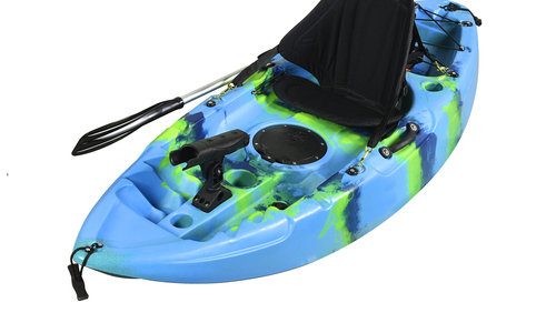 Kayak kids blue green yellow strip colour 7