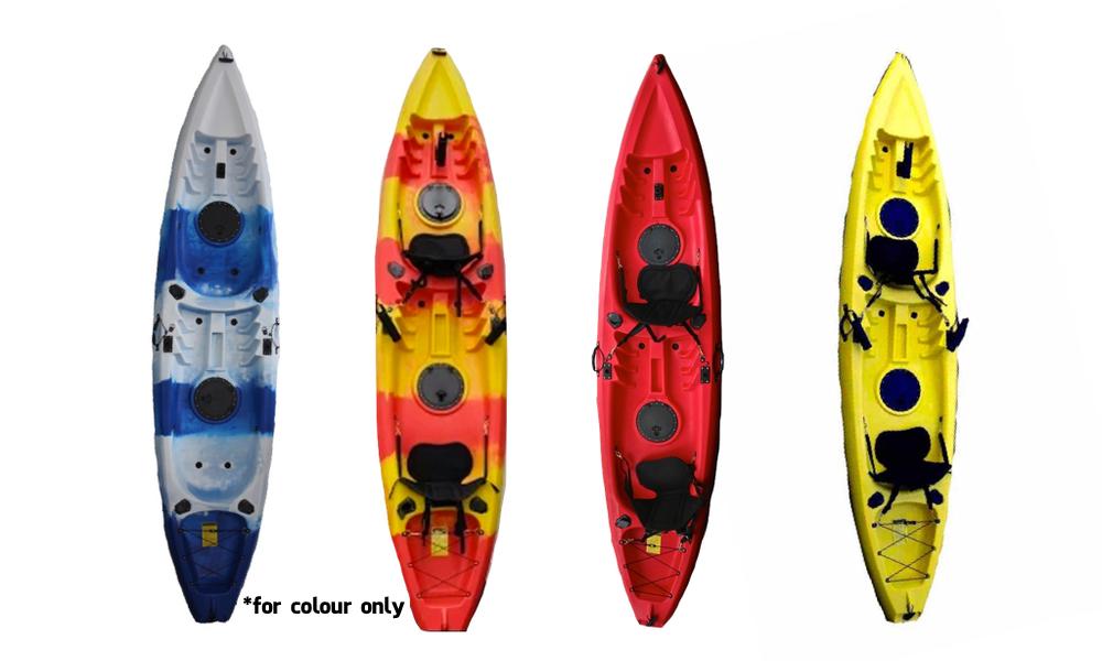 Kayak double 4 colours