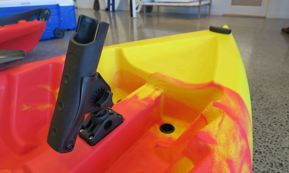 Kayak double detail of bow