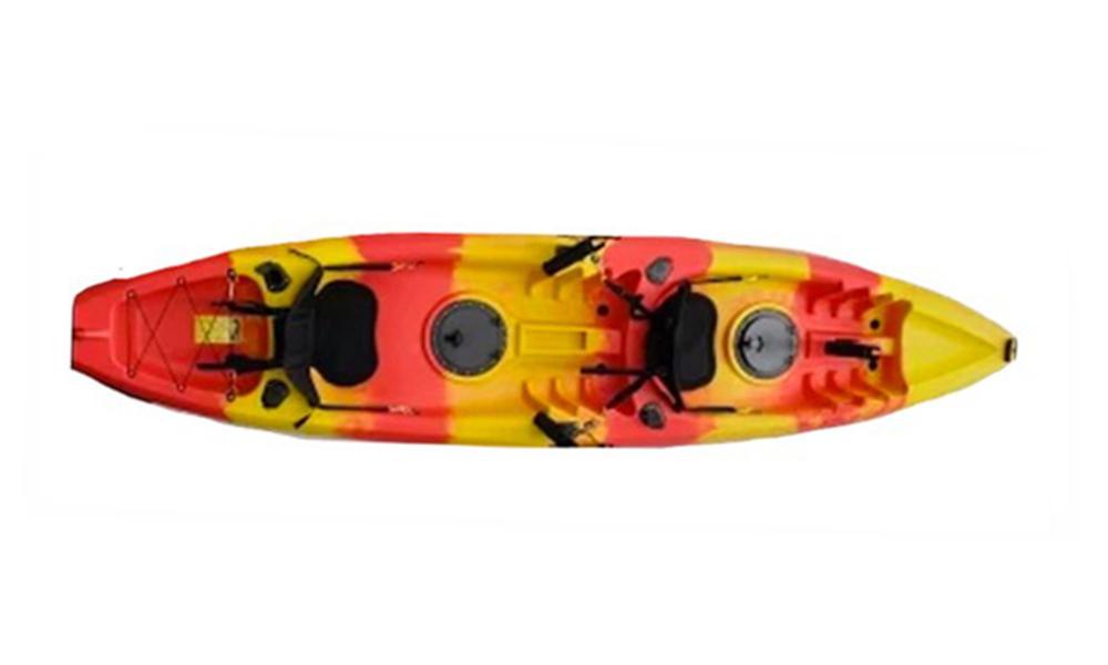 Kayak double redyellow mix