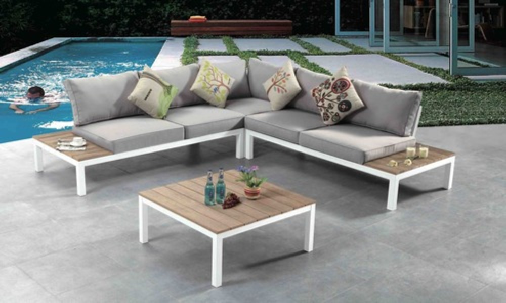 Outdoor lounge corner set 913