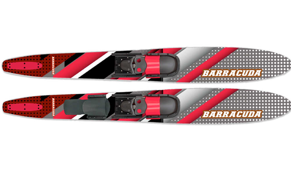 Waterskis web red