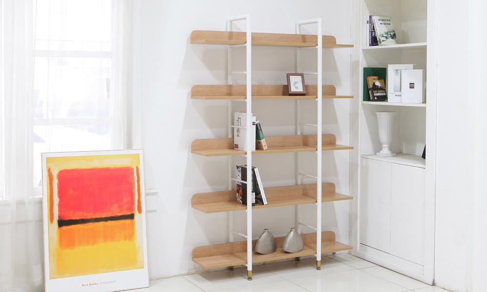 Hudson 5 tier bookshelf web