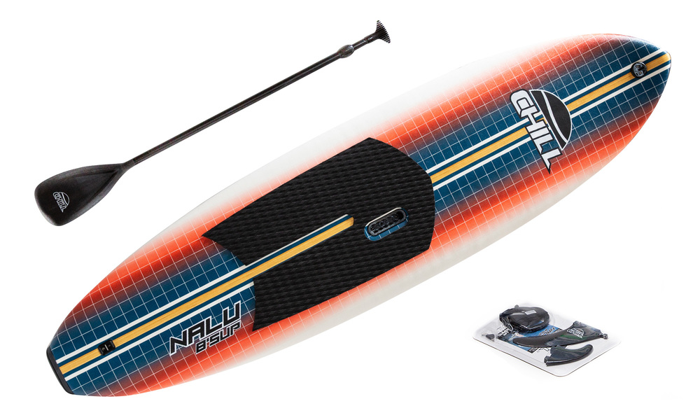 Kids 8' soft sup combo   red   web