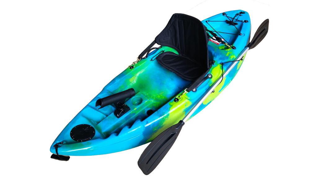 Kids kayak web   blue
