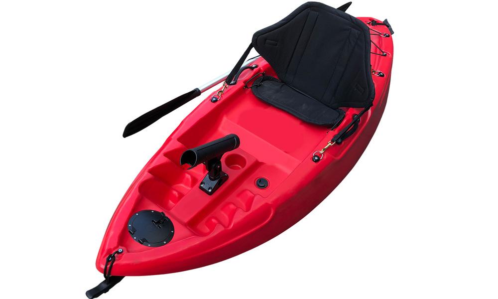 Kids kayak web   red