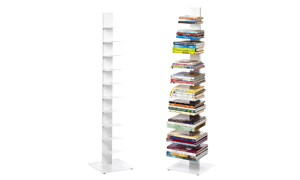 10 tier vertical book tower web3