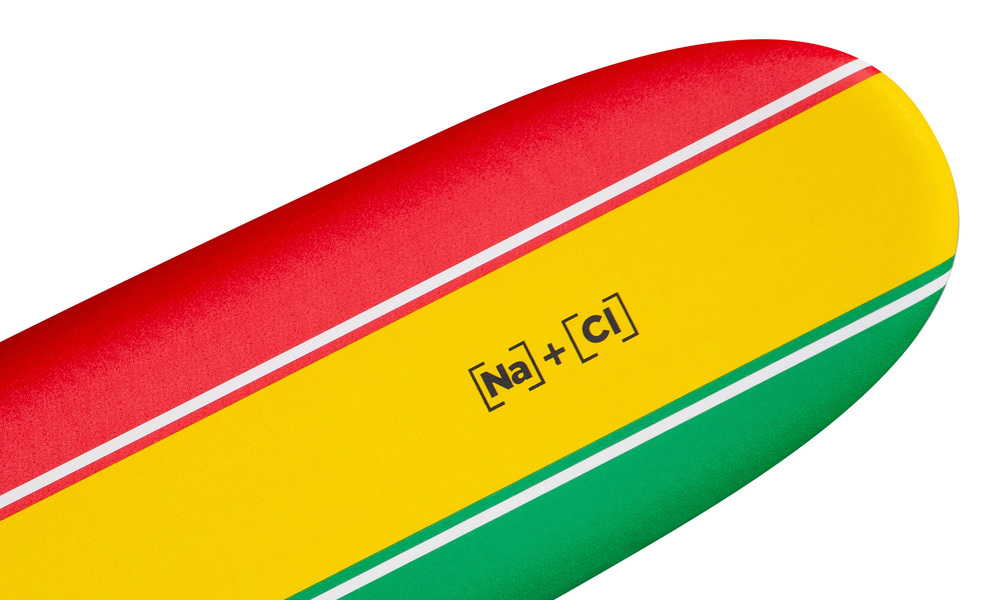 Soft surfboard striped   rasta   web2
