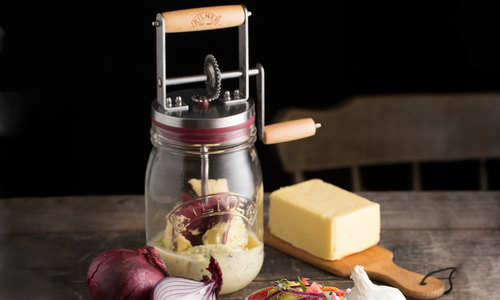 Kilner butter churn   web7