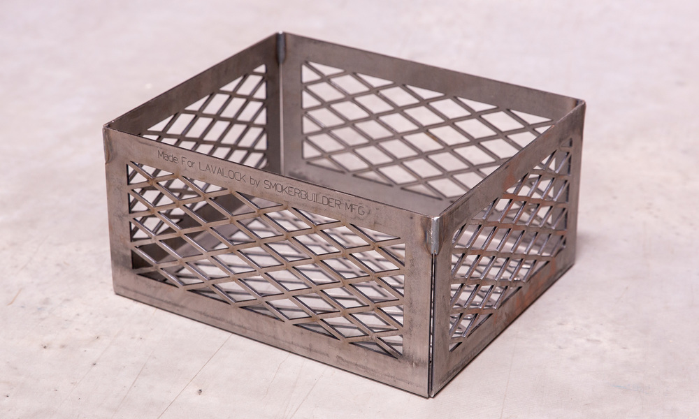 Bbq charcoal basket smoker pit   web1