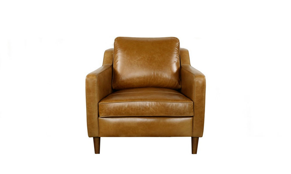 Camden leather armchair   web