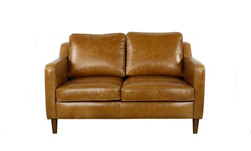 Camden 2 seater leather sofa   web
