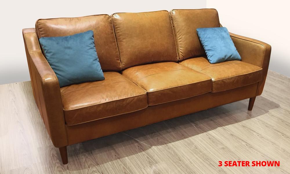 Camden leather sofas   showroom notice