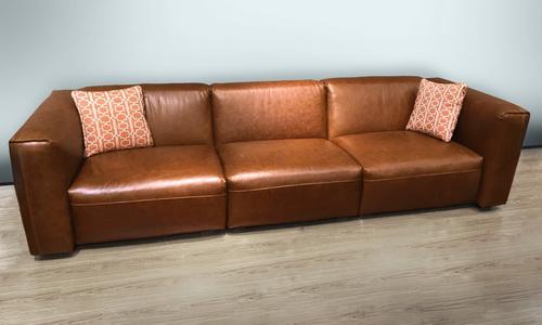 Brixton xl 3 seater modular leather sofa   web showroom