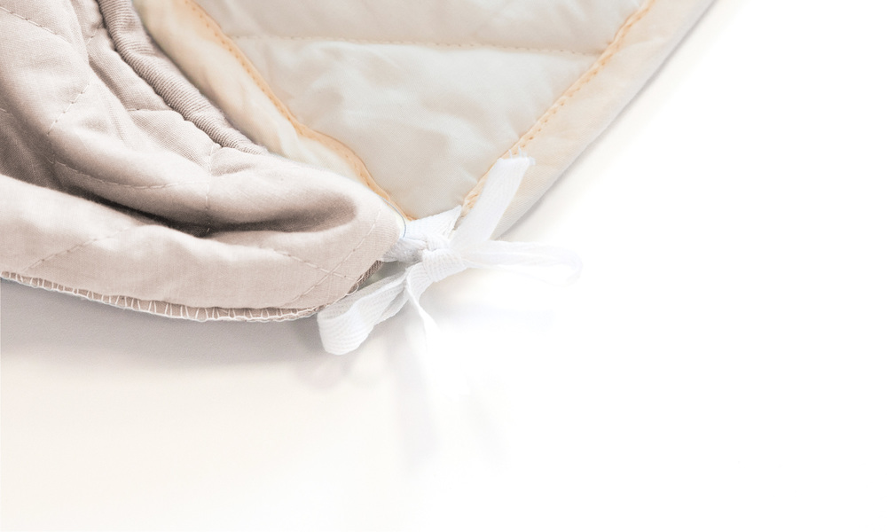 Light taupe   weighted blanket   web4