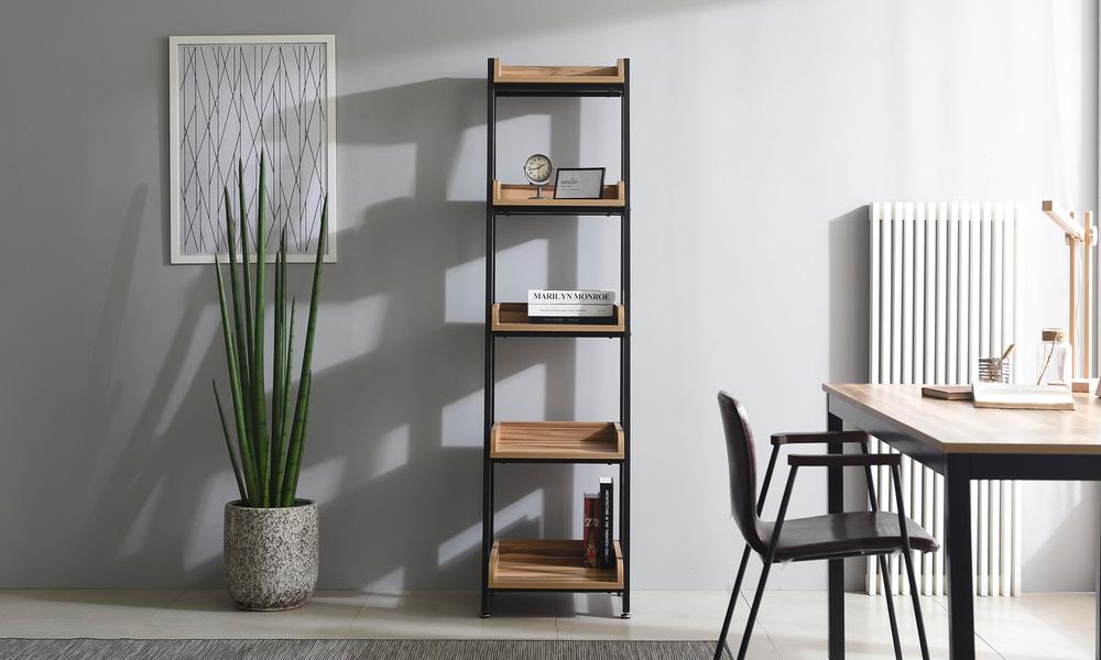 5 tier 40cm   hayden bookshelf   web1