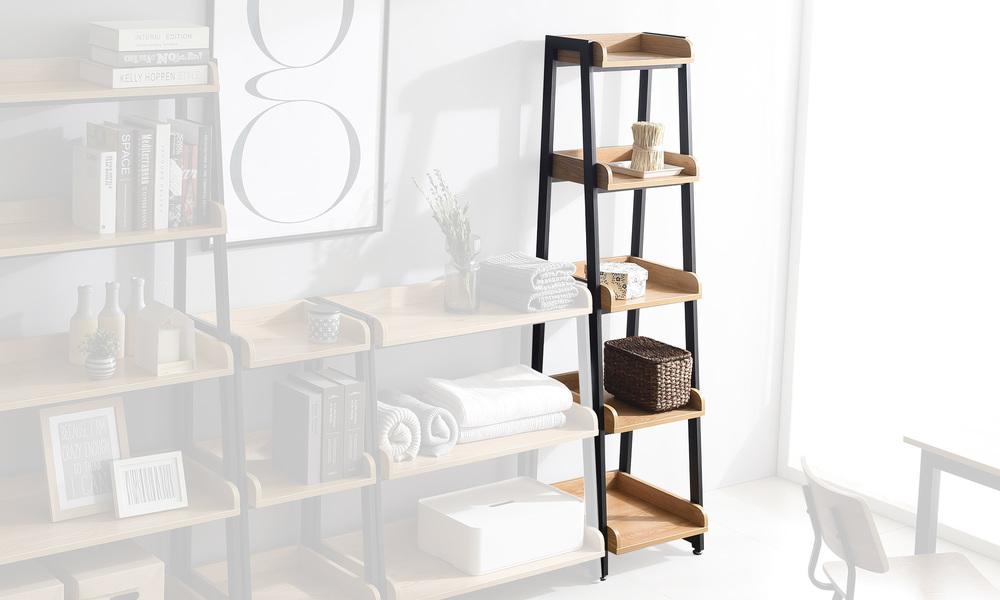 5 tier 40cm   hayden bookshelf   web2