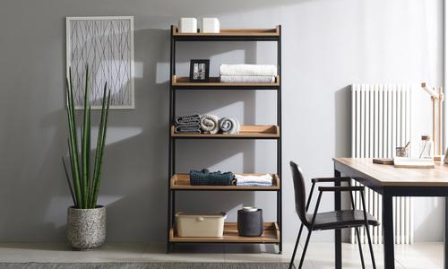 5 tier 80cm   hayden bookshelf   web1